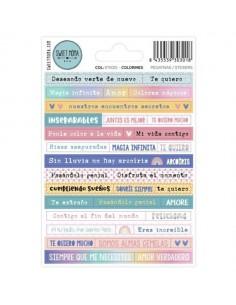 Stickers De colorines de...