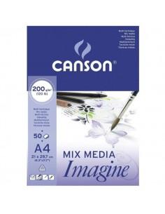 Cuaderno Mix Media Imagine A4