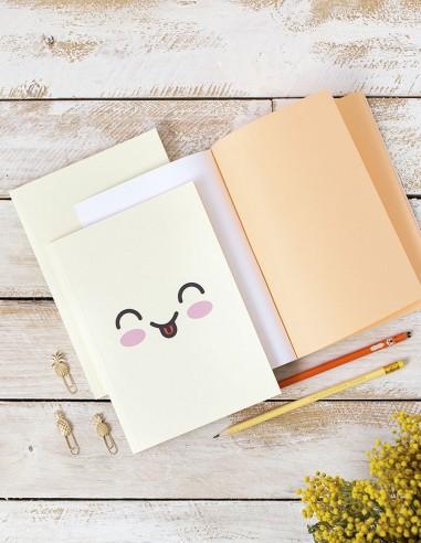 Cuaderno Emoji amarillo
