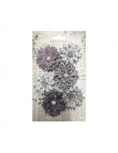 Potpurrí Flores grises
