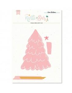 Troquel árbol de navidad