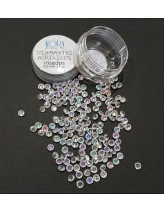Diamantes acrílicos - Irisados