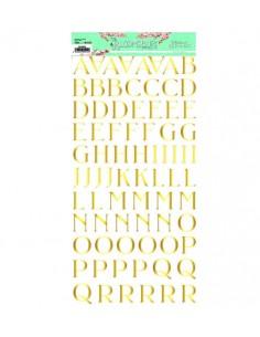Alfabeto Foil The Bloomsbury