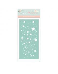 Stencil Estrellas Navidad...