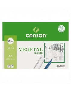 Pack Papel vegetal A3 Canson