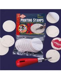 Pack 10 sellos circulares...