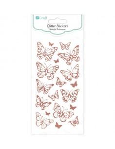 Glitter Stickers Butterflies