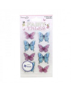 Holographic Butterfly Toppers