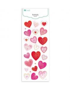 Glitter Stickers Hearts