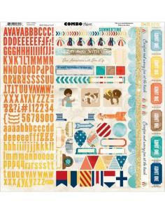 Stickers Boardwalk Combo