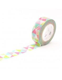 Washi Tape Shimasankaku Pink