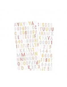 Alfabeto adhesivo Picnic...
