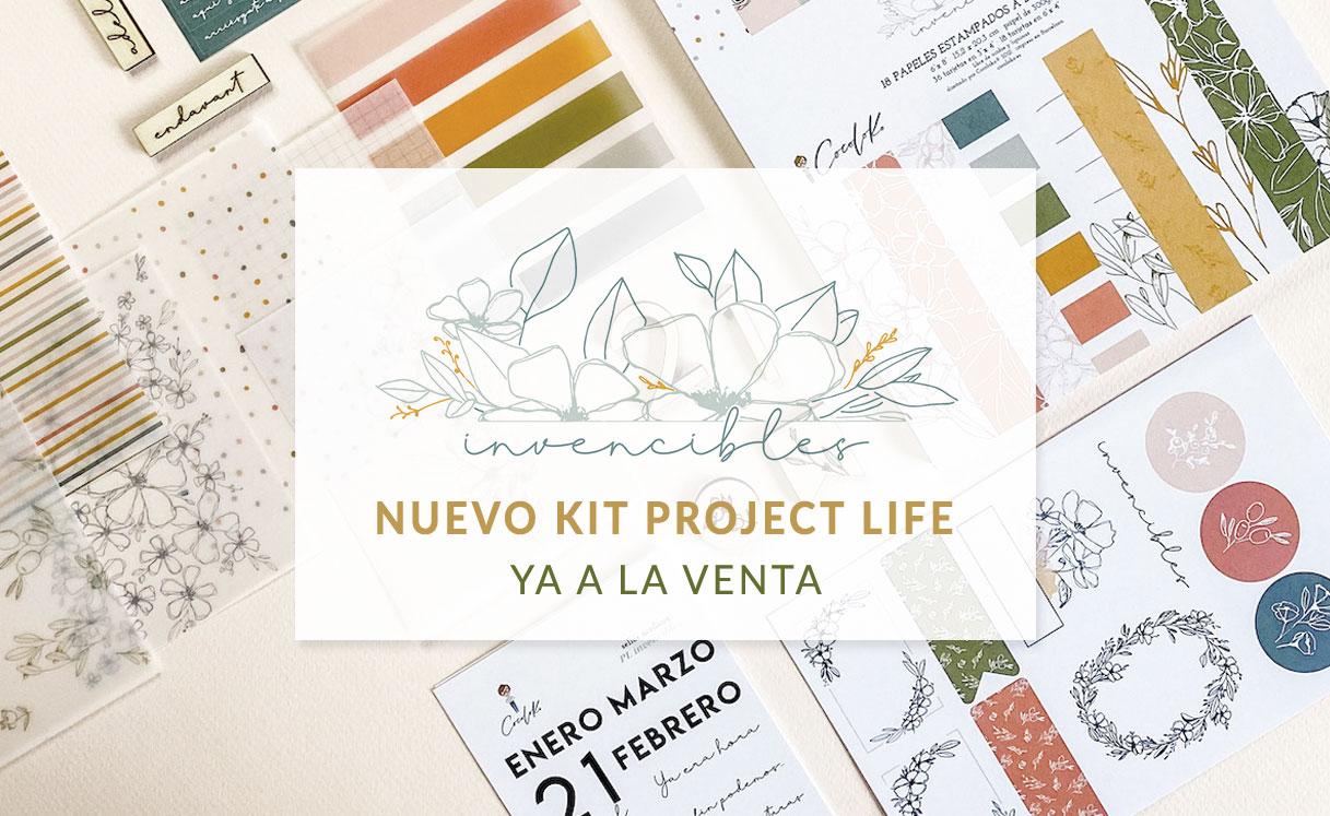 Kit para Project Life INVENCIBLES de Cocoloko
