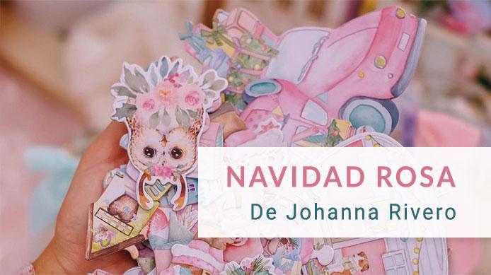 Navidad Rosa de Johanna Rivero