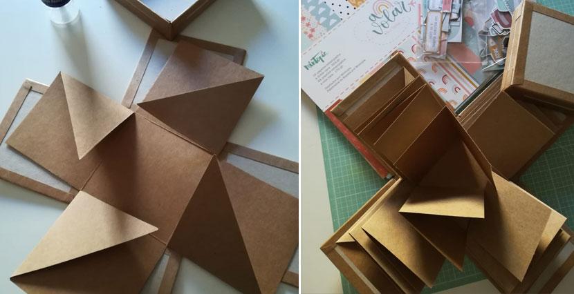 Estructura caja exploding box